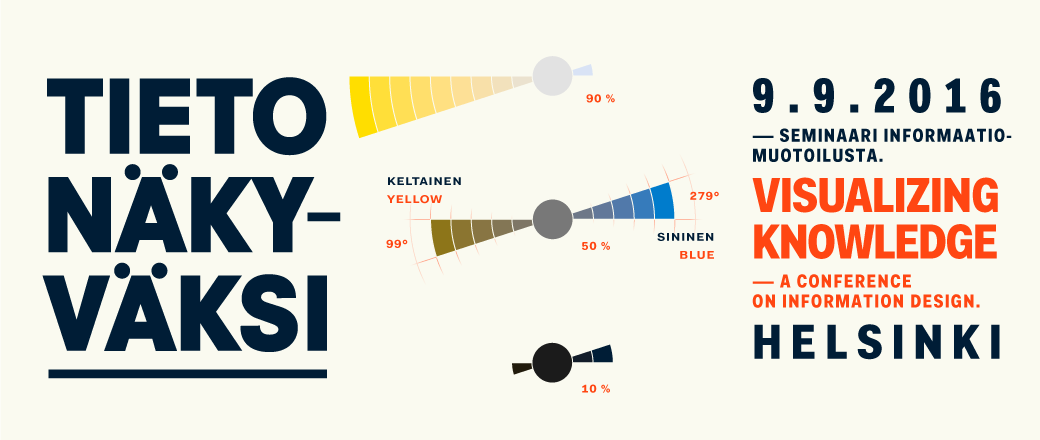 Tieto näkyväksi – Visualizing Knowledge – Helsinki 9.9.2016
